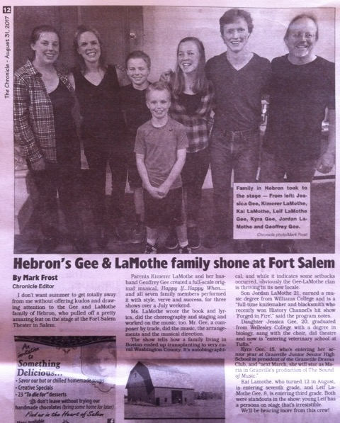 Glens Falls Chronicle Review
